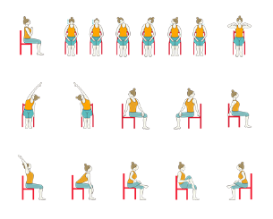 Intermediate Yoga - Yoga Sequence for Seniors with Chair and Restorative Poses