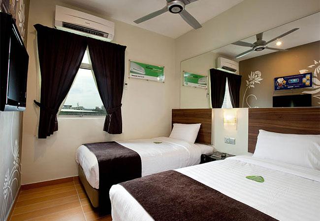 Twin Room, Tune Hotel Danga Bay
