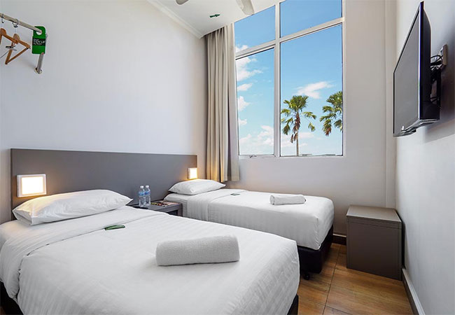 Twin Room, Tune Hotel 1Borneo, Kota Kinabalu