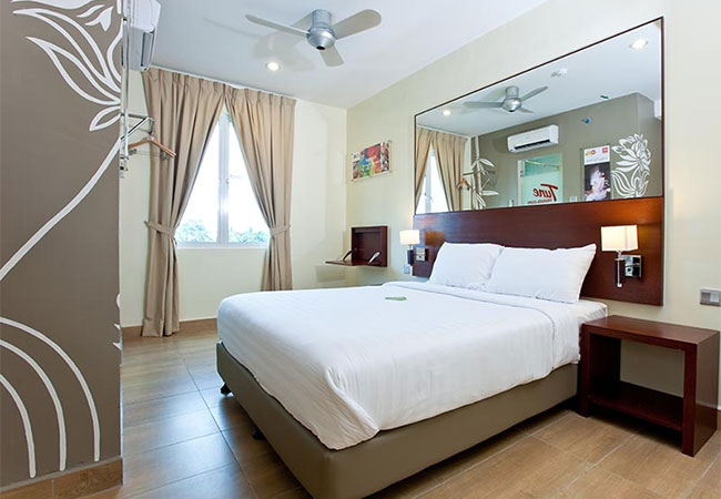 Double Bed Room, Tune Hotel George Town Penang