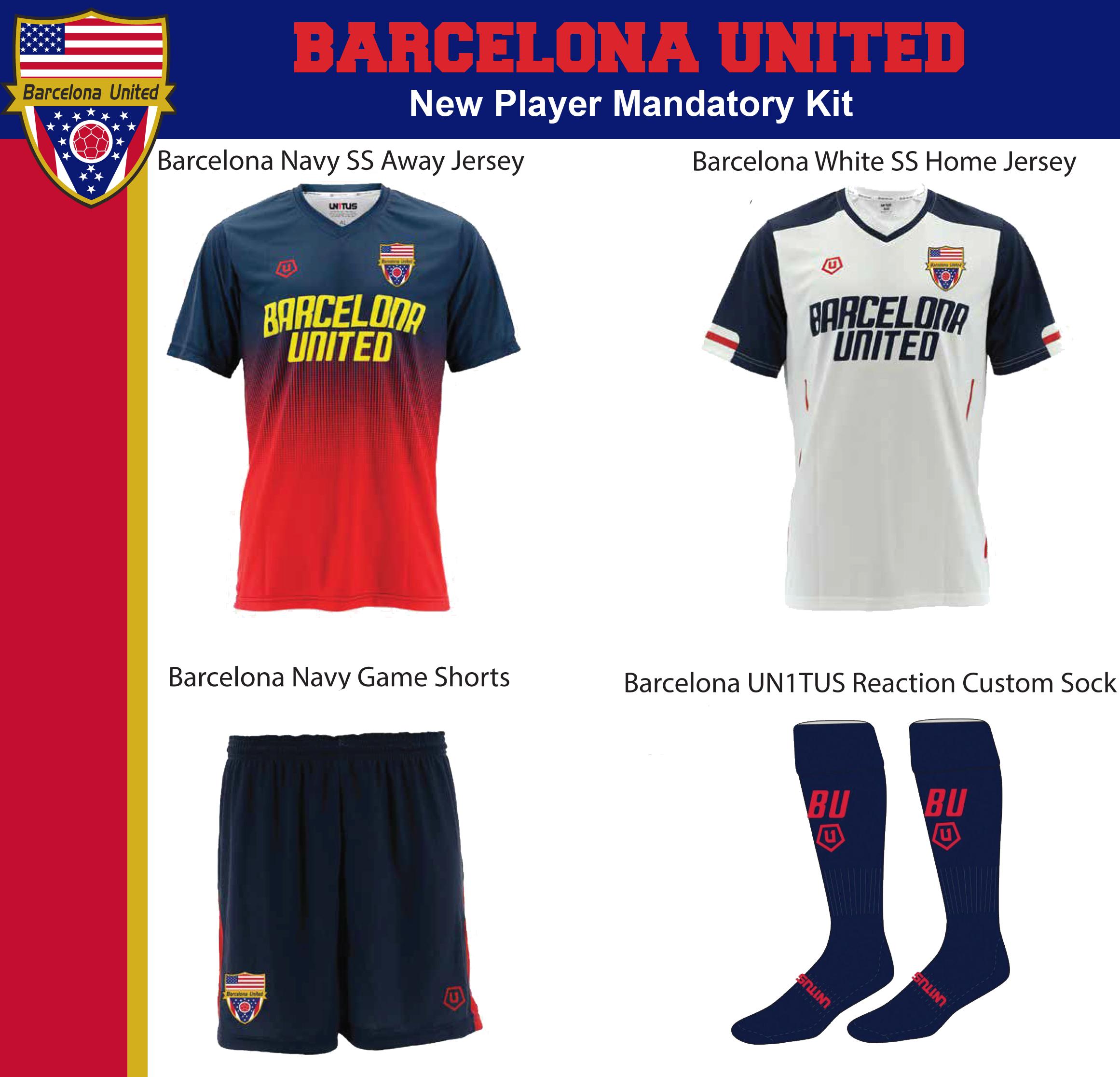 custom barcelona kit