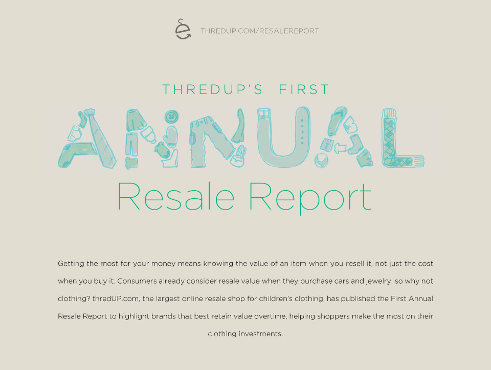 Annual Resale Report Overview