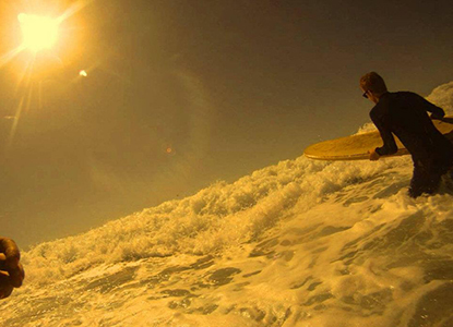 Surfing matt leonard