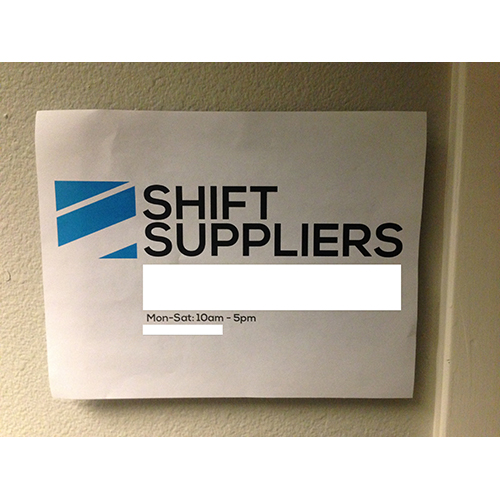 Shift suppliers