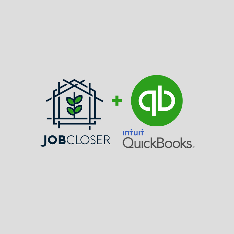 JobCloser Quickbooks Integration
