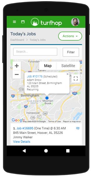 Turfhop Android App