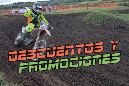 Promociones y descuentos exclusivos para participantes de la 5ª fecha nacional de motocross en Rocha