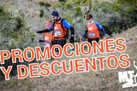 Promociones en alojamiento y comidas para participantes de la MT10 Sierras de Rocha