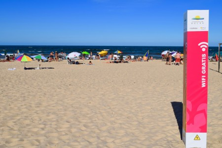 Wifi gratis en las playas de Rocha