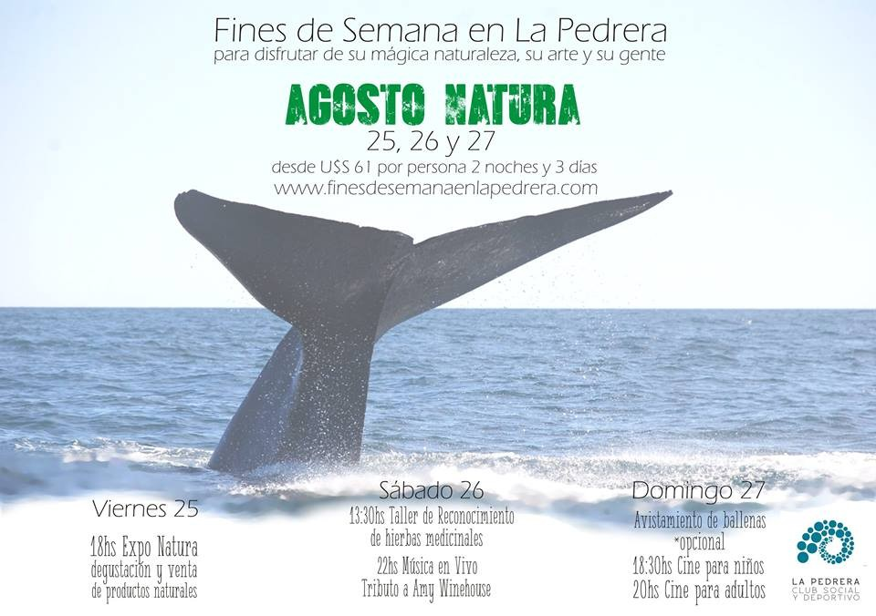 Fin de semana largo de agosto en La Pedrera