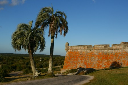Santa Teresa Fortress in Rocha, Uruguay. Visiting hours and entrance cost