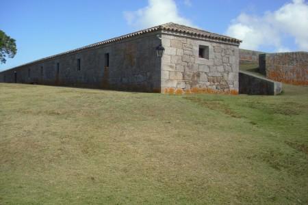 Interior de la Fortaleza de Santa Teresa
