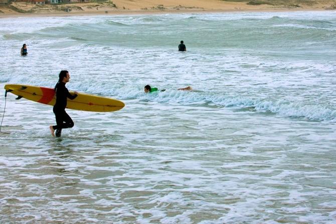 Surf in Punta del Diablo, Punta del Diablo