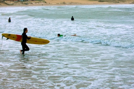 Ideal beaches to practice surf in Punta del Diablo, Rocha, Uruguay