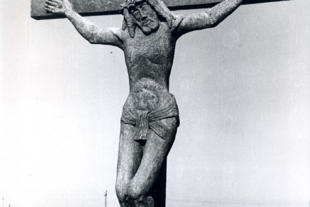 """Cristo de """"Lucho"""" - F: Centro Cultural de La Paloma"""