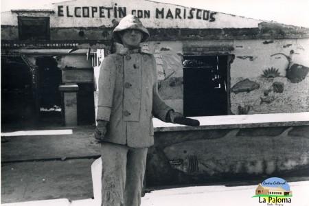 """Frente del local de """"Lucho"""" en el Puerto de La Paloma - F: Centro Cultural de La Paloma"""