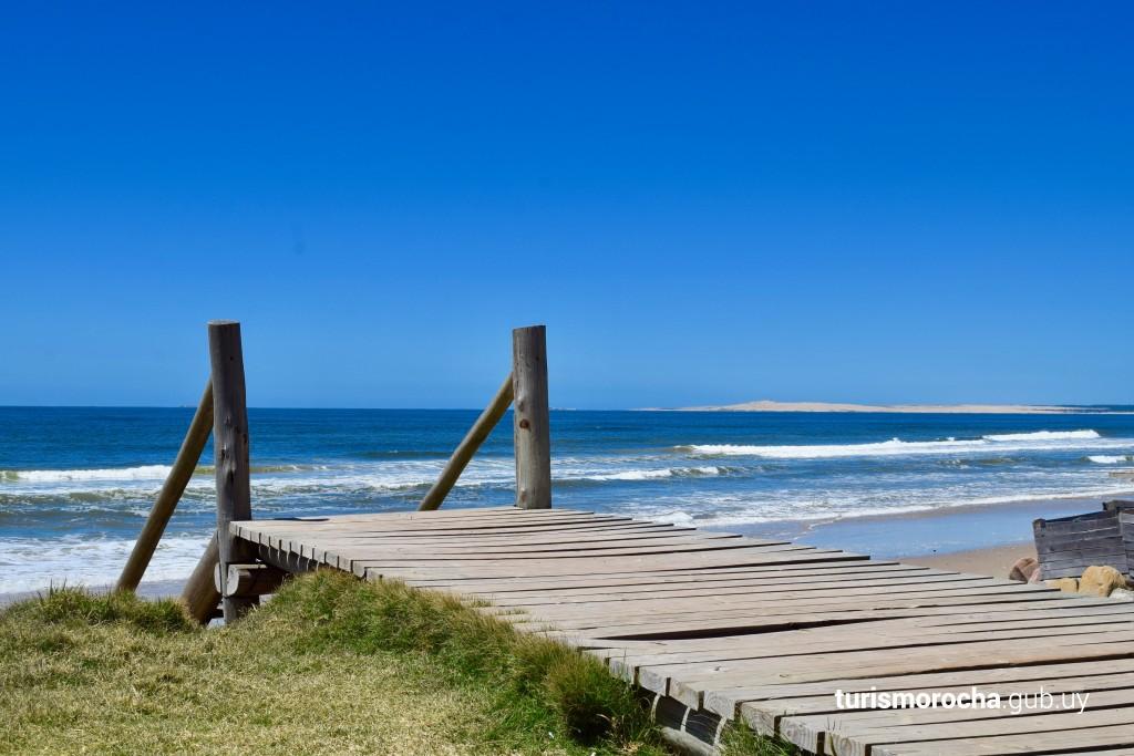 Playa de Aguas Dulces en Aguas Dulces