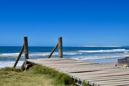 Aguas Dulces Beach: to enjoy the sky, the sand and the sea in Rocha, Uruguay