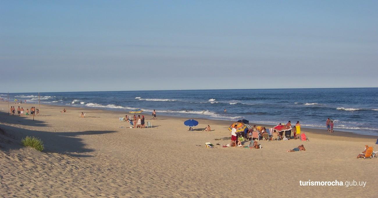 Playa de La Esmeralda en Rocha