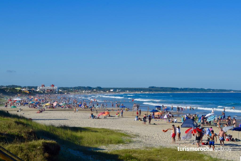Playa de Costa Azul en La Paloma