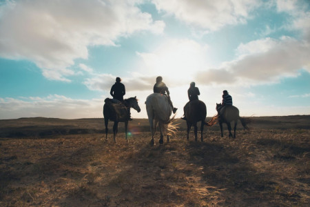 Horseback riding in Rocha, Cabo Polonio