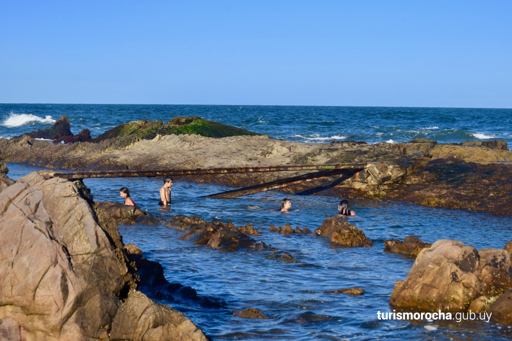 Playa del Faro en La Paloma