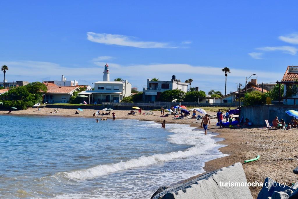 Playa Bahía Chica en La Paloma