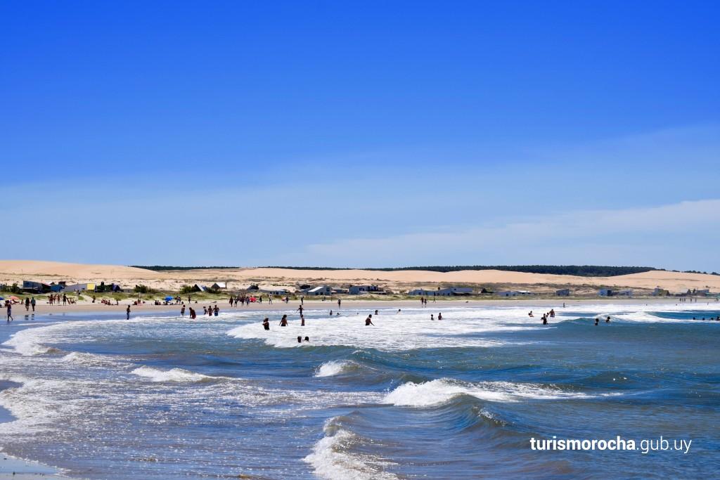 Playa La Calavera, Cabo Polonio