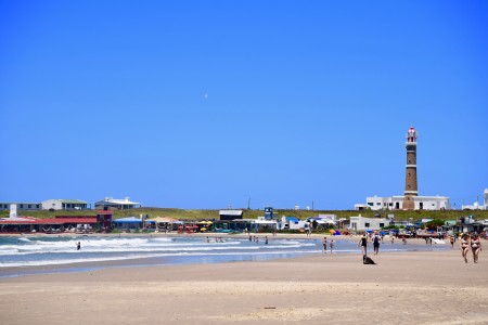 La Calavera Beach in Cabo Polonio, Uruguay, that of the artisanal fishing boats