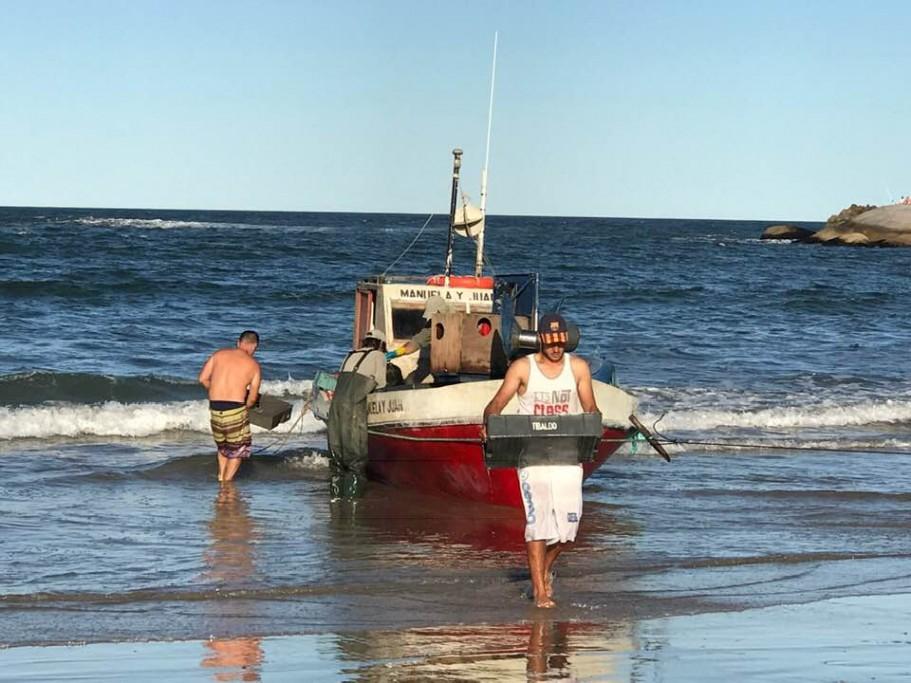 Pesca en Punta del Diablo, Rocha