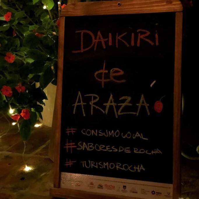 Daikiri de arazá en Rocha