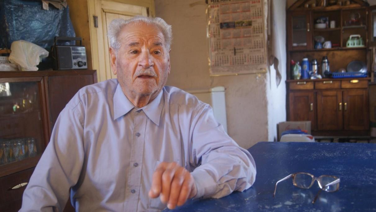 Tito Ballesteros, pescador de Laguna de Rocha