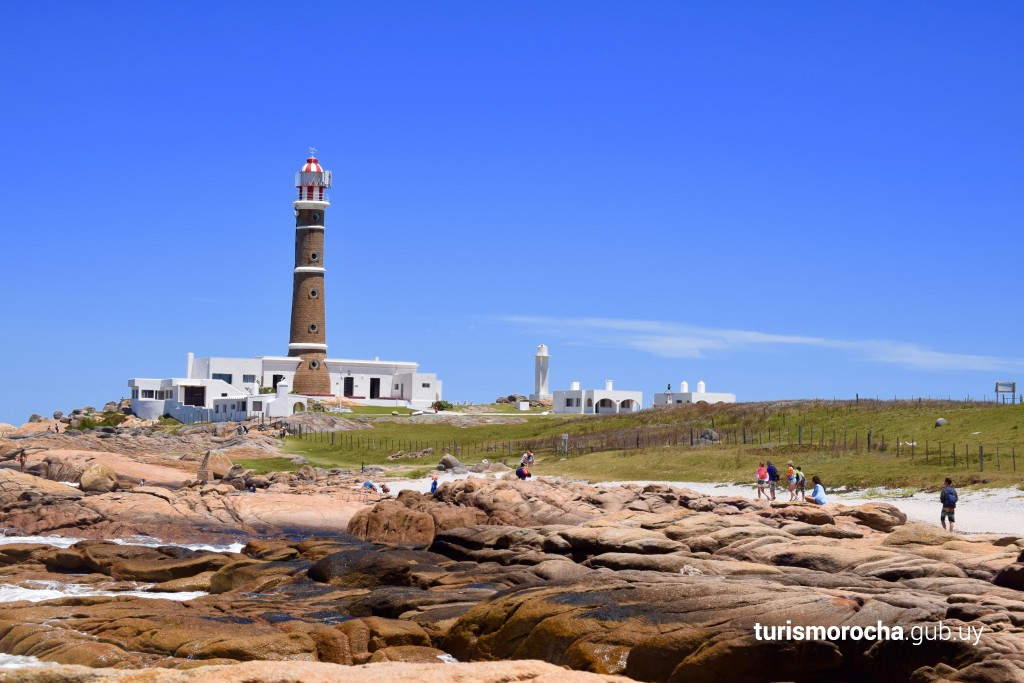 Faro de Cabo Polonio en Cabo Polonio