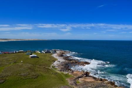 Vista desde el Faro de Cabo Polonio
