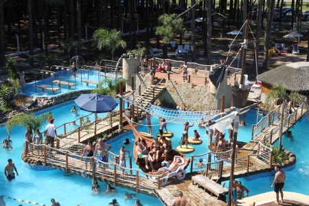 Water park in Barra de Chuy, an alternative to the beach to enjoy with the family in summer in Uruguay