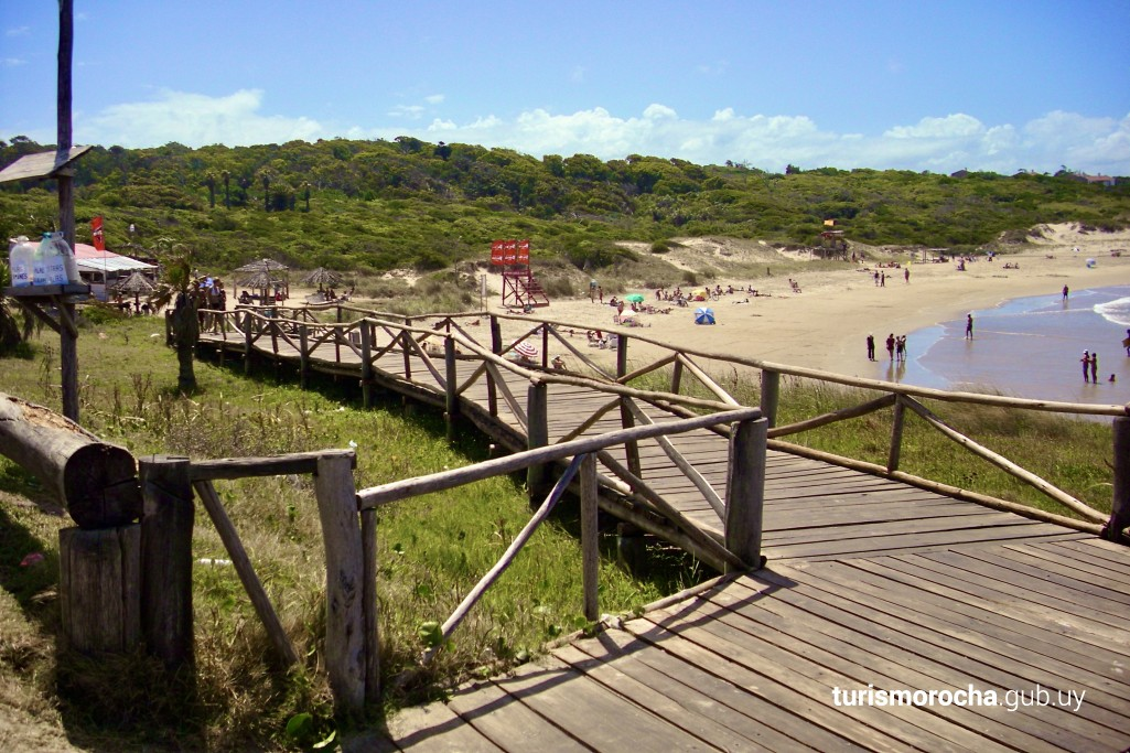 Playa La Moza, Parque Nacional Santa Teresa, Uruguay