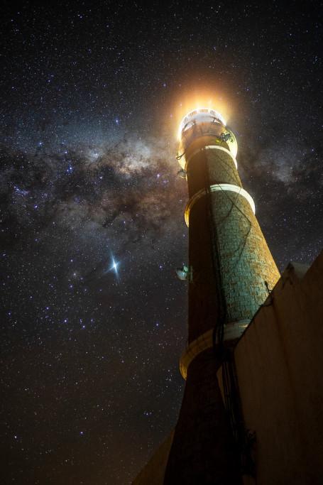 Observación del cielo nocturno en Rocha