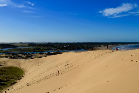 Cerro de la Buena Vista: the highest point of the dunes of Cabo Polonio and Barra de Valizas in Uruguay
