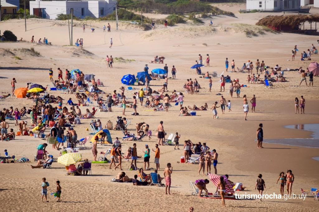Playa El Desplayado en La Pedrera