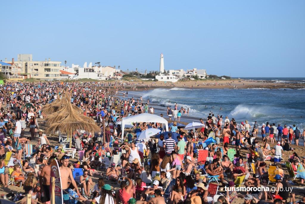 Playa La Balconada en La Paloma