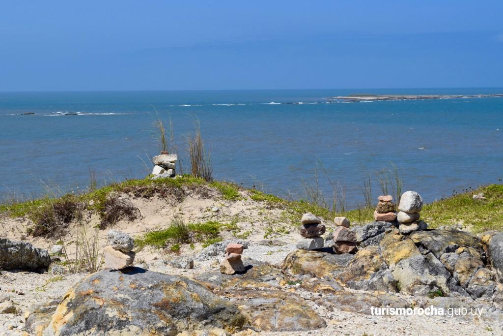 Vista hacia Islas de La Coronilla desde el Cerro Verde