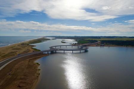 Puente Laguna Garzón, Rocha, Uruguay