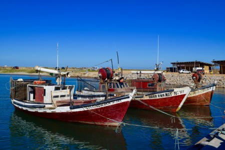 Barcas de pesca artesanal