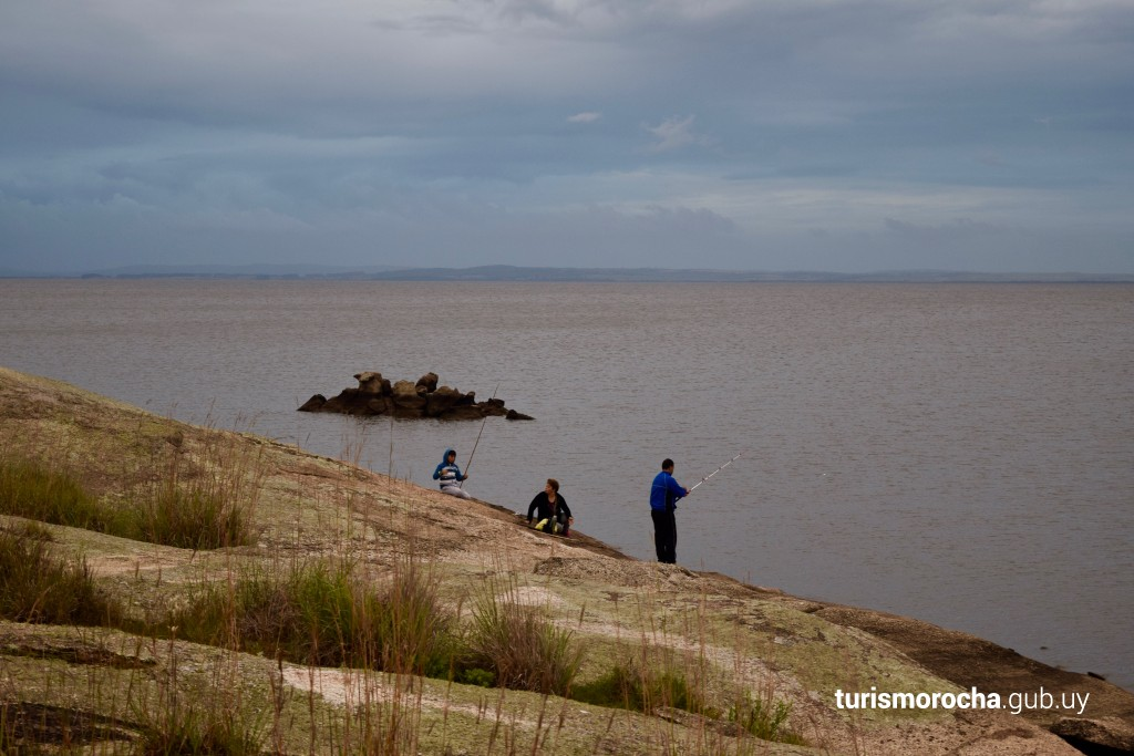 Pesca en la Laguna Negra de Rocha