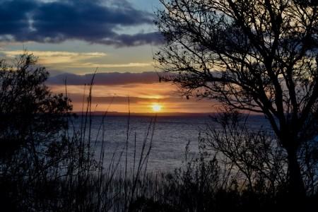 Laguna Negra o Laguna de los Difuntos en Rocha, al este del Uruguay