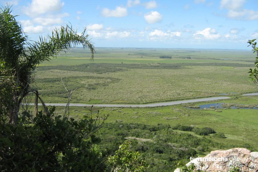 Vista al arroyo San Miguel