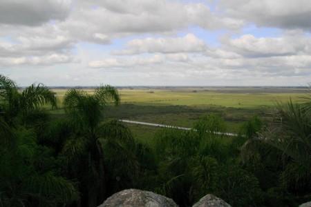 Vista desde la cima del cerro