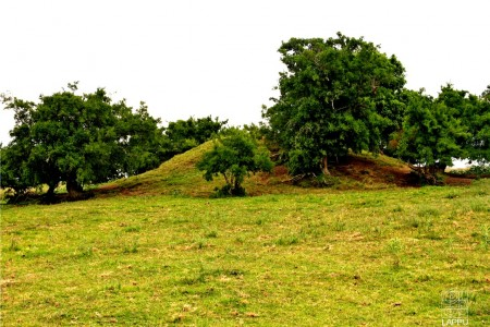 Cerritos de Indios, indigenous small mounds, in Rocha: Historic Monument of Uruguay
