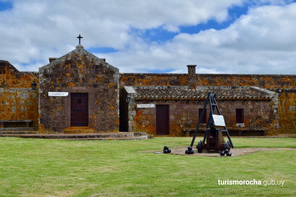 Fuerte de San Miguel, Rocha