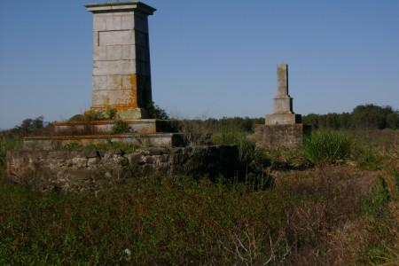 Marcos próximos al Arroyo San Miguel